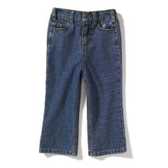 Infant and Toddler Girls' Washed 5-Pocket Denim Jean