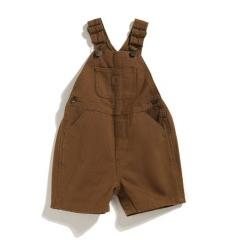 Infant and Toddler Boys' Washed Bib Shortall