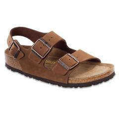 Women's Milano Cocoa Soft Footbed Nubuck-Narrow