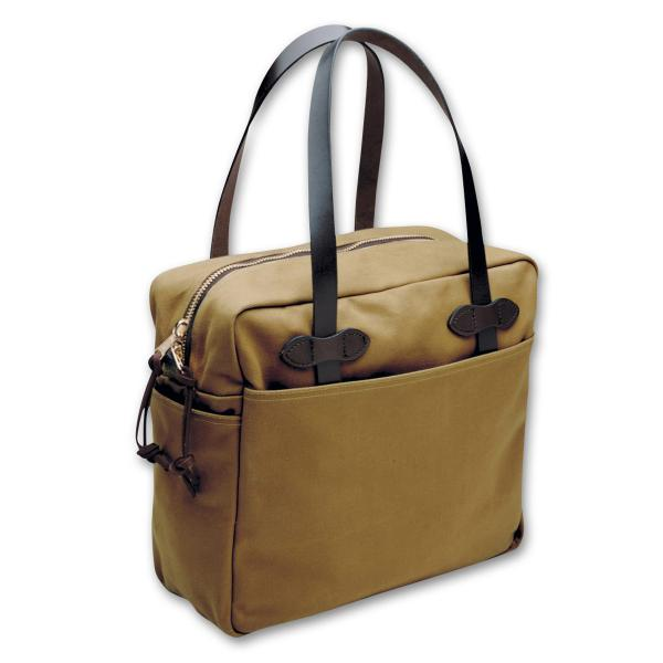 Filson Tote Bag with Zipper