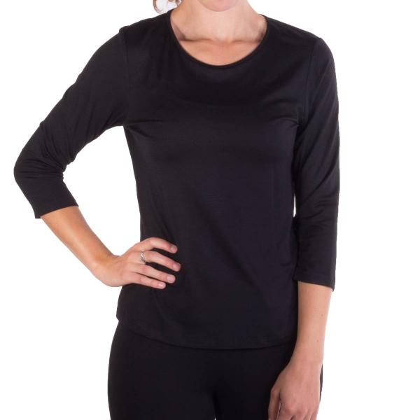 Comfy USA Women's Three Quarter Sleeve Tee
