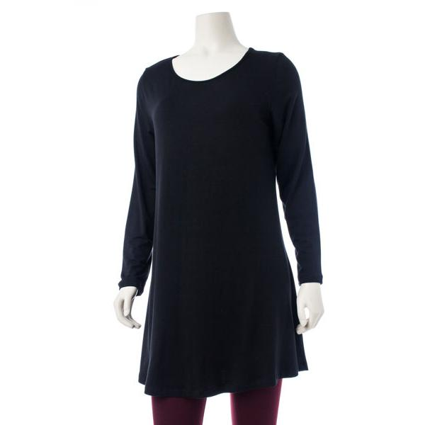 Comfy USA Women's Long Sleeve Long Tee