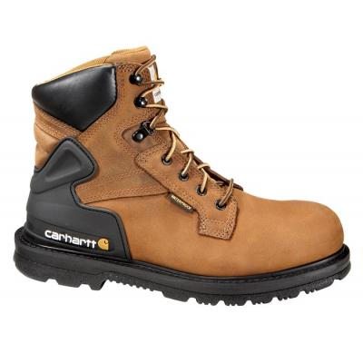 "Carhartt Men's 6"" Bison Waterproof Work Boot - Steel Toe"