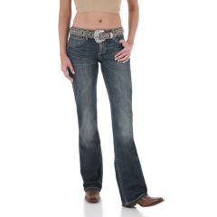 Wrangler Women's Western Premium Patch Low Rise Jean