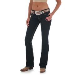 Women's Western Ultra Low Rise Booty Up Jean