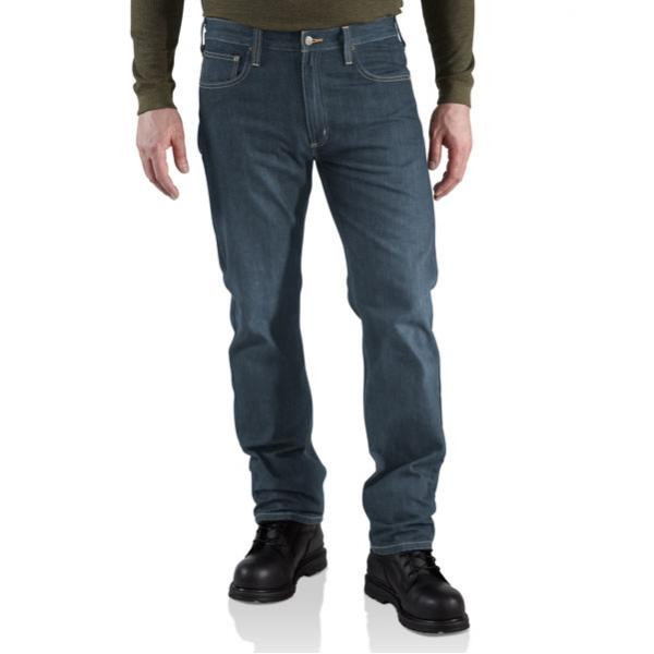 Carhartt Men's Straight-Fit Straight Leg Jean - Discontinued Pricing