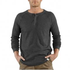 Men's Lightweight Thermal Knit Henley