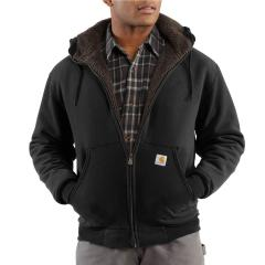Carhartt Men's Collinston Brushed Fleece Sherpa Lined Sweatshirt