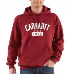 Carhartt Men's Graphic Collegiate Midweight Sweatshirt - Closeout Pricing