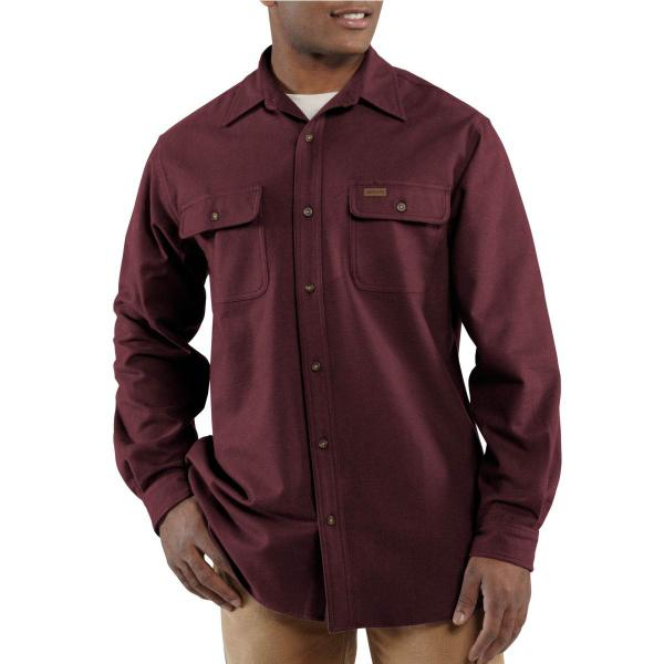 Carhartt Men's Chamois Long-Sleeve Shirt