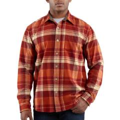Men's Hubbard Plaid Slim Shirt Closeout Pricing