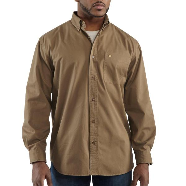 Carhartt Men's Hines Solid Long-Sleeve Shirt - Discontinued Pricing