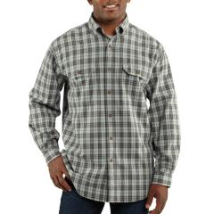Men's Fort Plaid Long-Sleeve Shirt Closeout Pricing