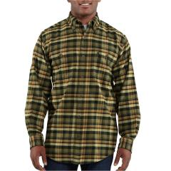 Men's Trumbull Midweight Plaid Shirt Closeout Pricing
