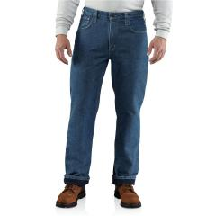 Men's Flame-Resistant Lined Utility Denim Jean - Relaxed Fit
