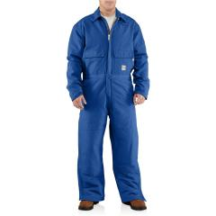 Men's Flame-Resistant Duck Coverall - Quilt Lined