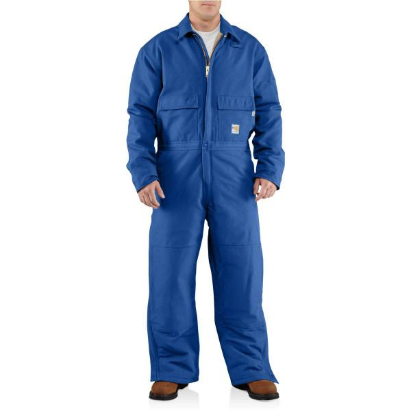 Carhartt Men's Flame-Resistant Duck Coverall - Quilt Lined - Discontinued Pricing