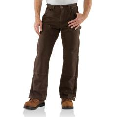 Men's Sandstone Waist Overall - Quilt Lined