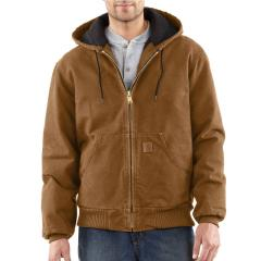 Men's Quilted-Flannel-Lined Sandstone Active Jac