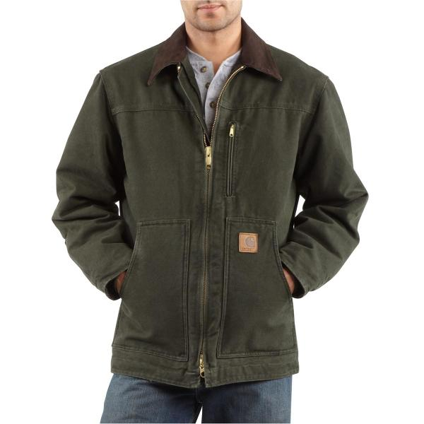 Carhartt Ridge Coat - Sherpa Lined - Discontinued Pricing