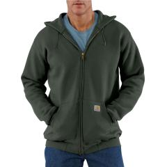 Carhartt Midweight Hooded Zip-Front Sweatshirt - Discontinued Pricing