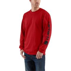 Men's Signature Sleeve Graphic Long-Sleeve T-Shirt - Past Season - Discontinued Pricing