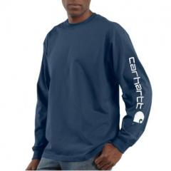 Signature Sleeve Graphic Long-Sleeve T-Shirt