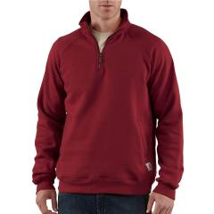 Midweight Quarter-Zip Mock-Neck Sweatshirt - Discontinued Pricing