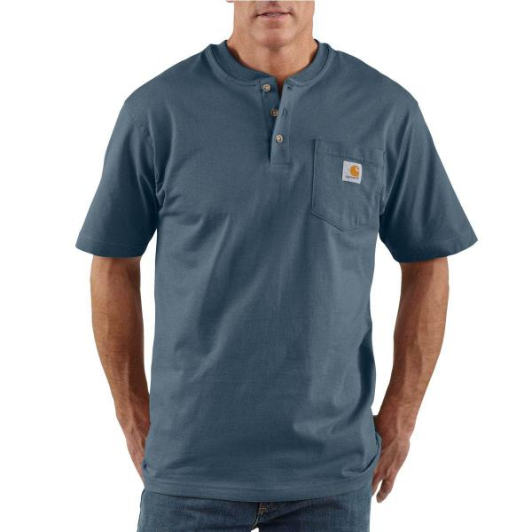 Carhartt Men's Workwear Pocket Short-Sleeve Henley - Discontinued Pricing