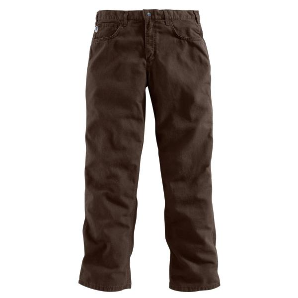 Carhartt Flame-Resistant Midweight Canvas Jean - Loose-Fit - Discontinued Pricing