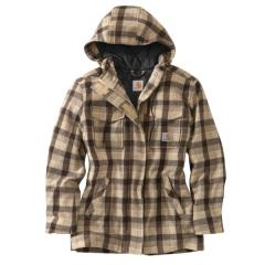 Women's Camden Plaid Wool Parka Closeout Pricing