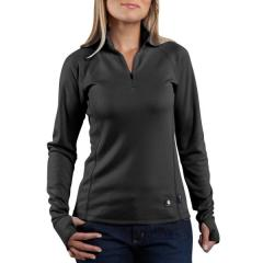 Women's Work-Dry Base Layer Quarter-Zip Shirt