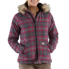 Women's Camden Plaid Wool Jacket Closeout Pricing