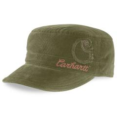 Women's Corduroy Military Cap - Closeout Pricing