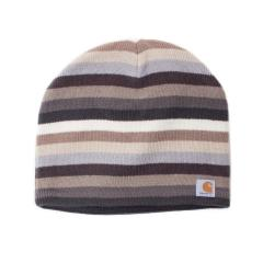 Women's Striped Knit Hat - Fleeced Lined- Discontinued Pricing
