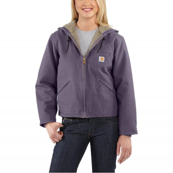 Carhartt Women's Sandstone Sierra Jacket - Sherpa Lined - Discontinued Pricing