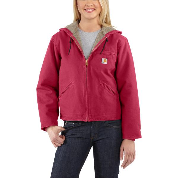 Carhartt Women's Sandstone Sierra Jacket - Sherpa Lined - Past Season
