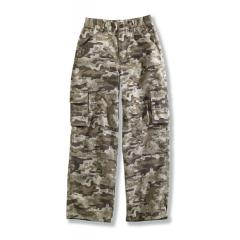 Washed Cargo Pocket Pant