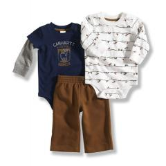 Infant Boys' 3 Piece Gift Set
