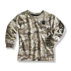 Infant and Toddler Boys' Brown Camo Logo T-Shirt