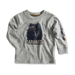 Infant and Toddler Boys' Long-Sleeve Logo T-Shirt