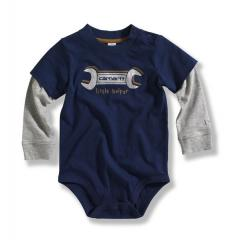 Infant Boys' Layered Sleeve Bodyshirt