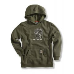 "Boys' Big ""C"" Fleece Hooded Sweatshirt"