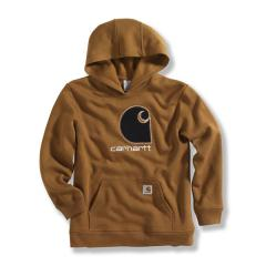 "Boys' Big ""C"" Camo Fleece Hooded Sweatshirt"