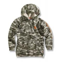 Boys' Camo Graphic Fleece Hooded Sweatshirt