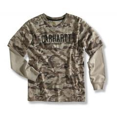 Boys' Camo Layered T-Shirt