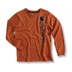Boys' Long Sleeve Logo T-Shirt