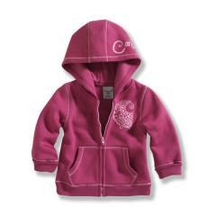 Infant and Toddler Girls' Cozy Zip Front Jacket