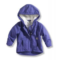 Infant and Toddler Girls' Berkley Jacket - Sherpa Lined Duck