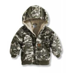 Carhartt Infant and Toddler Boys' Camo Blue Ridge Jacket - Sherpa Lined